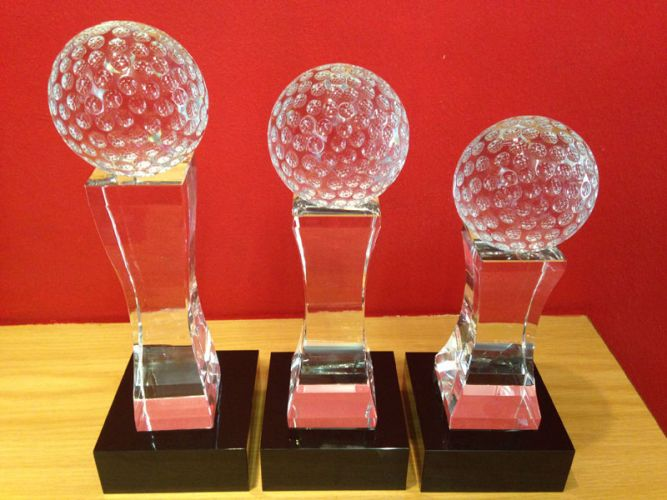 Code: G55 - Golf Crystal Award